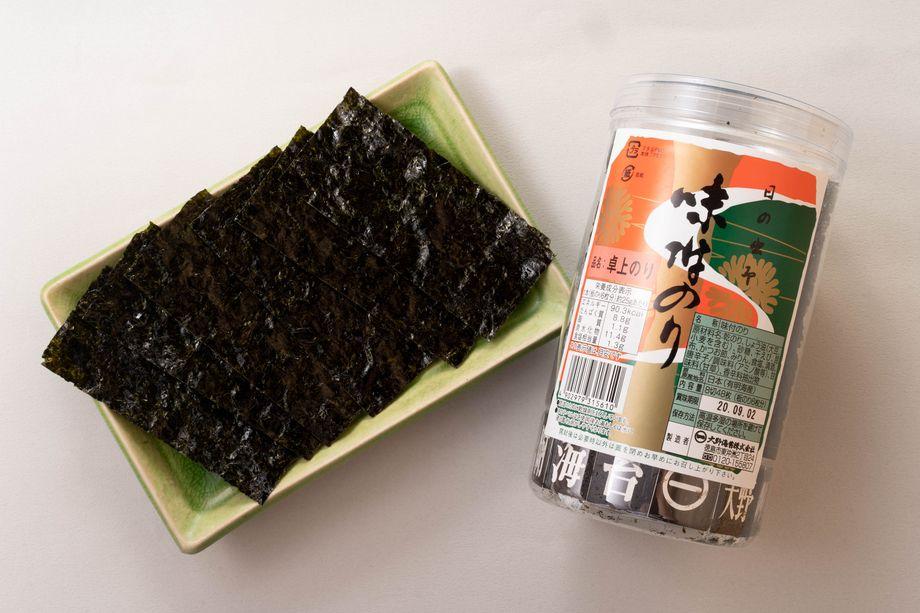 徳島★大野海苔(48枚入ボトル)