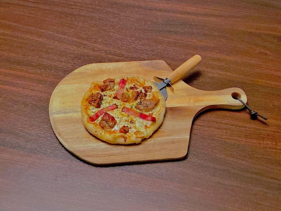 『肉好き必見!』ミートピザ