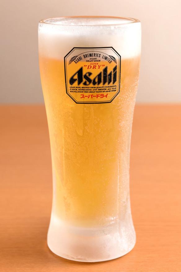 生ビール(アサヒスーパードライ)