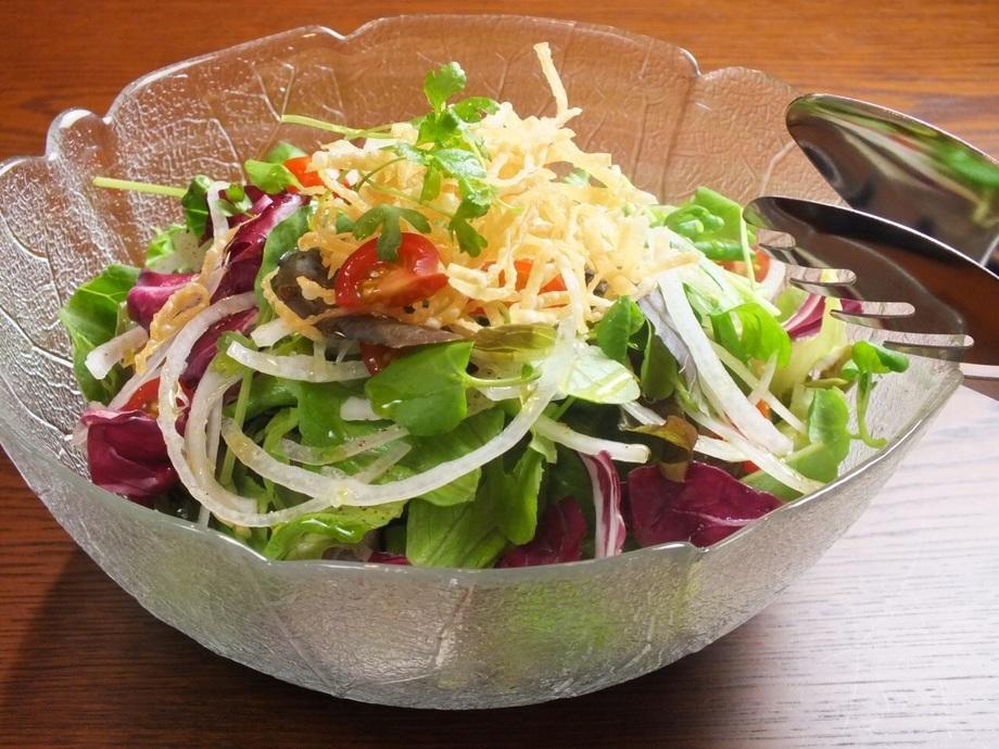 野菜サラダ(甘酒ドレッシング) 1・2人前(580円(税抜))