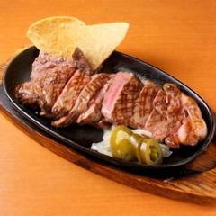 メキシコ牛のステーキ