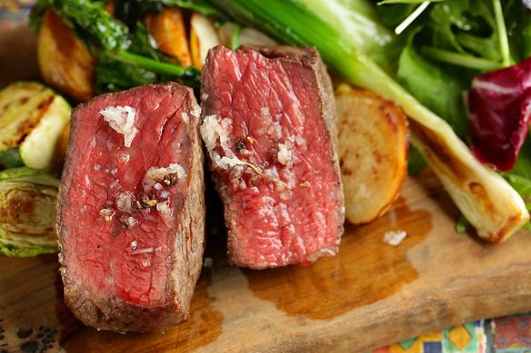 和牛イチボのステーキ