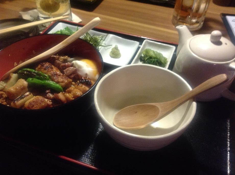 焼き鳥ひつまぶし(¥980 -)