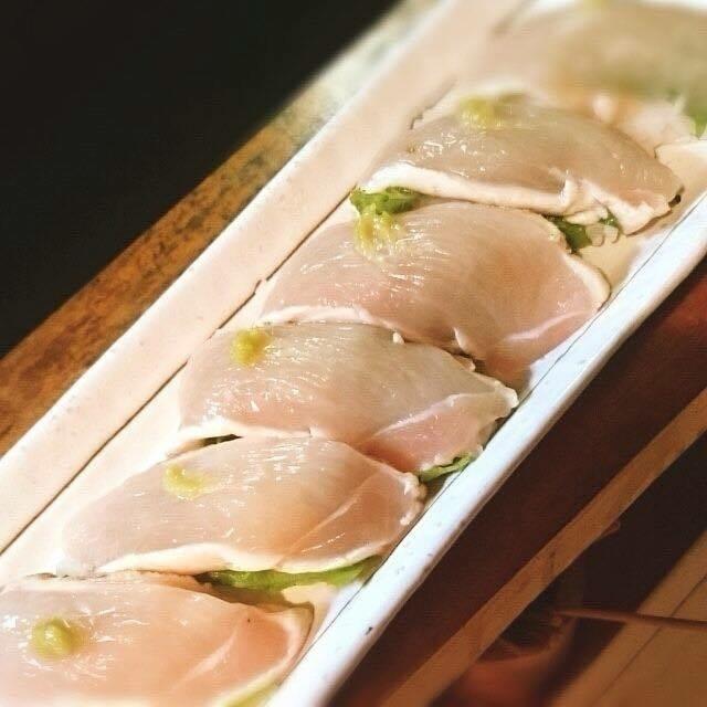 鳥寿司 ( おまかせデラックスコースのみ対応 )( ¥1580 -)