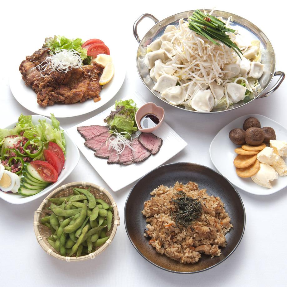 餃子鍋コース( 3,980円(税込))