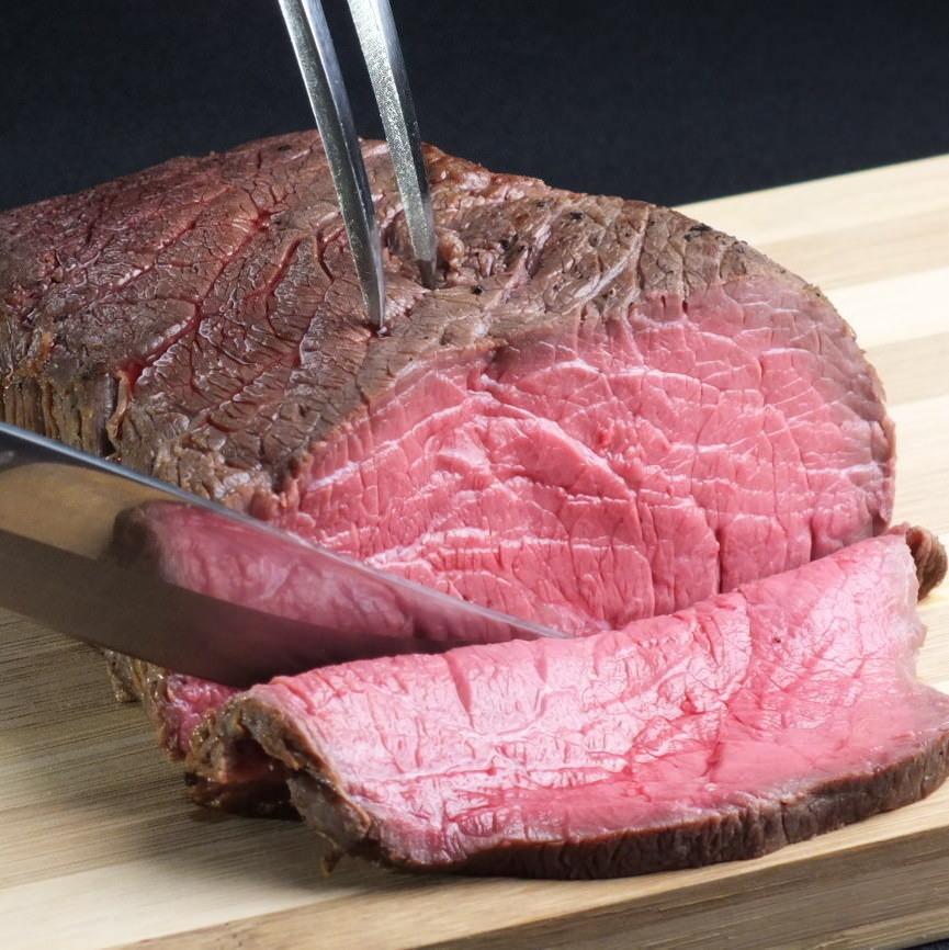 【塊肉で肉祭り♪】70円/10g 500gから承ります。【予約限定!!】