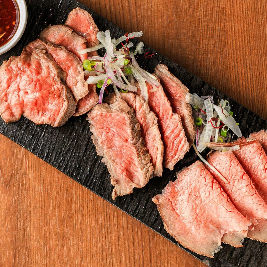 三種のローストビーフ食べ比べ(1,980円)