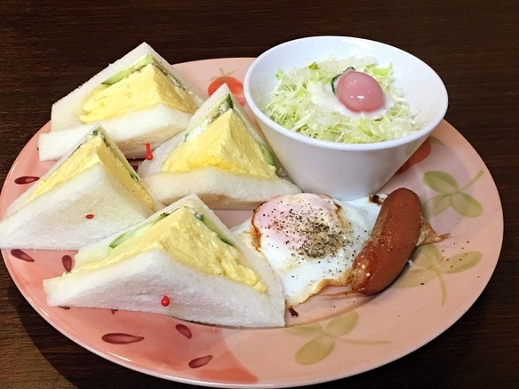 サンドイッチモーニング  8時30分〜