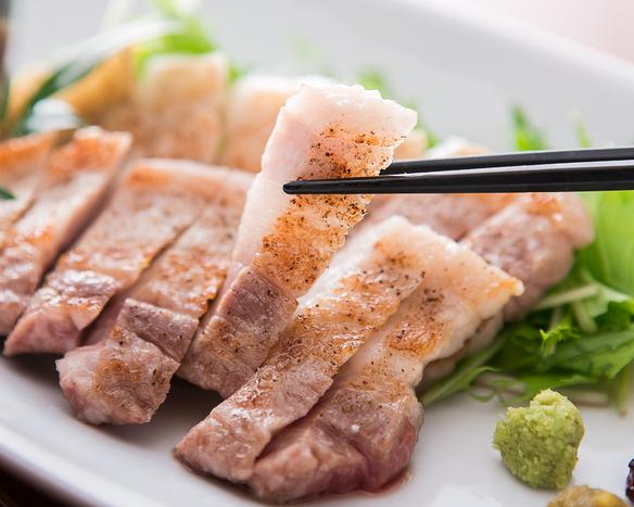 長野産 千代幻豚(ちよげんとん)塩焼き