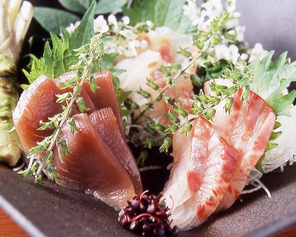 鮮魚のお刺し身