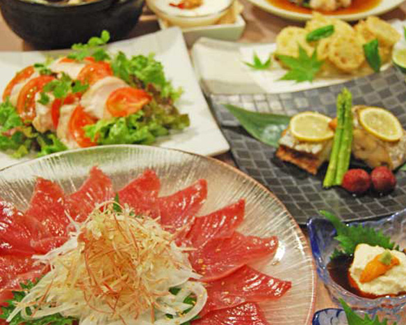 【2H飲み放題付き】季節のお料理コース