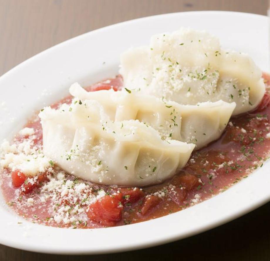 トマトとチーズの水餃子 3ヶ