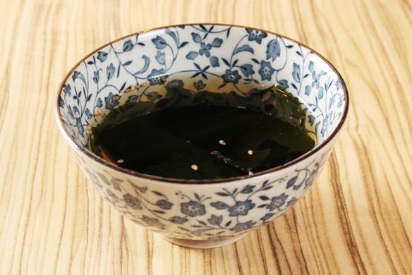 わかめスープ(お替わり自由)