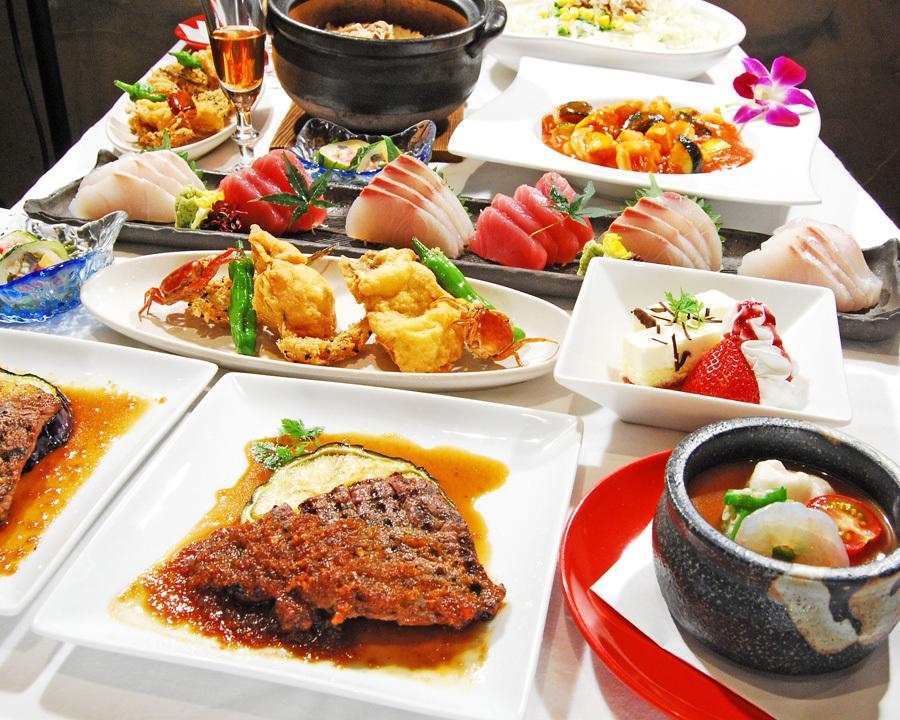 【3H飲み放題付き】ステーキ&鮮魚のコース