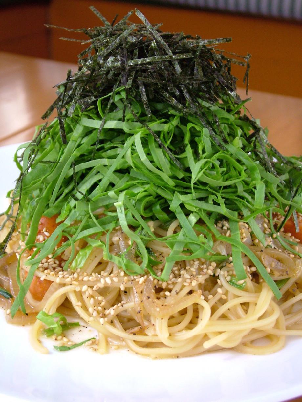 生ほうれん草のヘルシー スパゲッティ(950円)