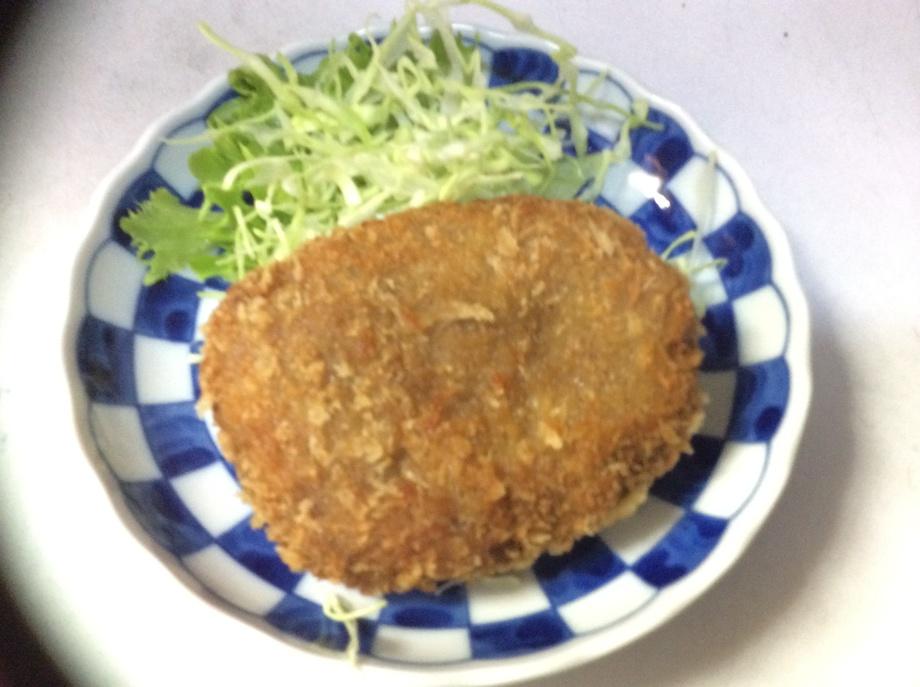 ほくほく ほっくり 牛肉コロッケ(490円)