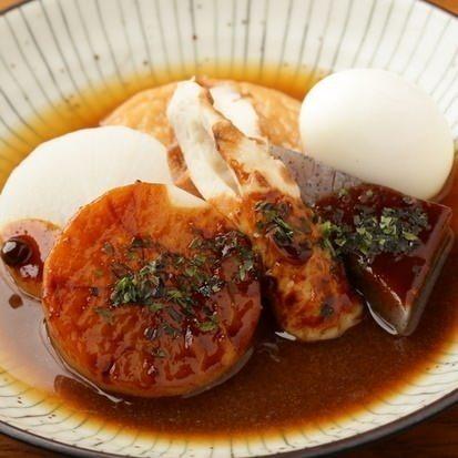 煮込み味噌田楽(130円)