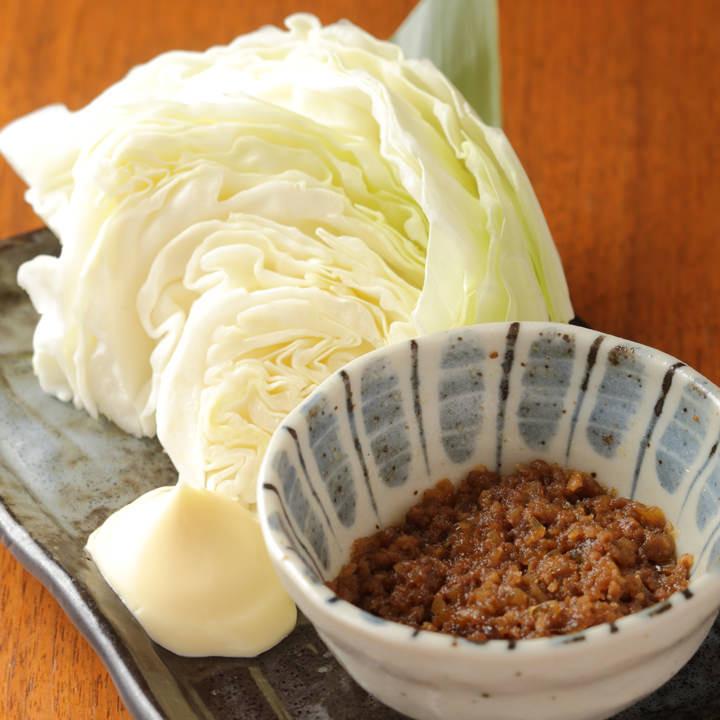 肉味噌キャベツ(430円)