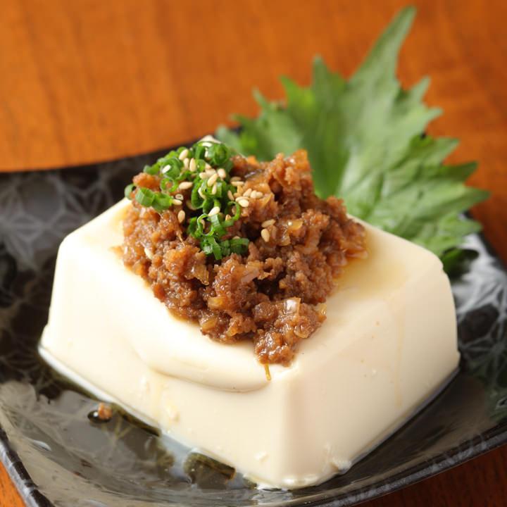 肉みそ豆腐(390円)