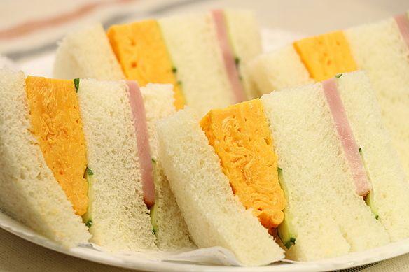 ハム玉子サンド