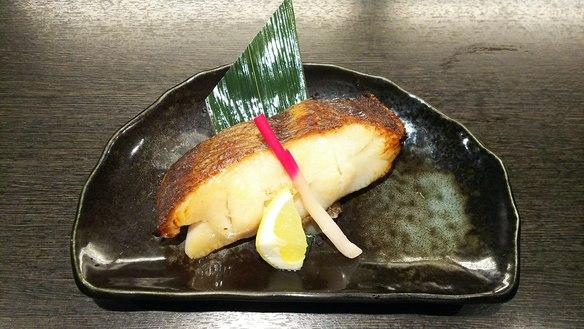 銀ガレイ味噌焼き