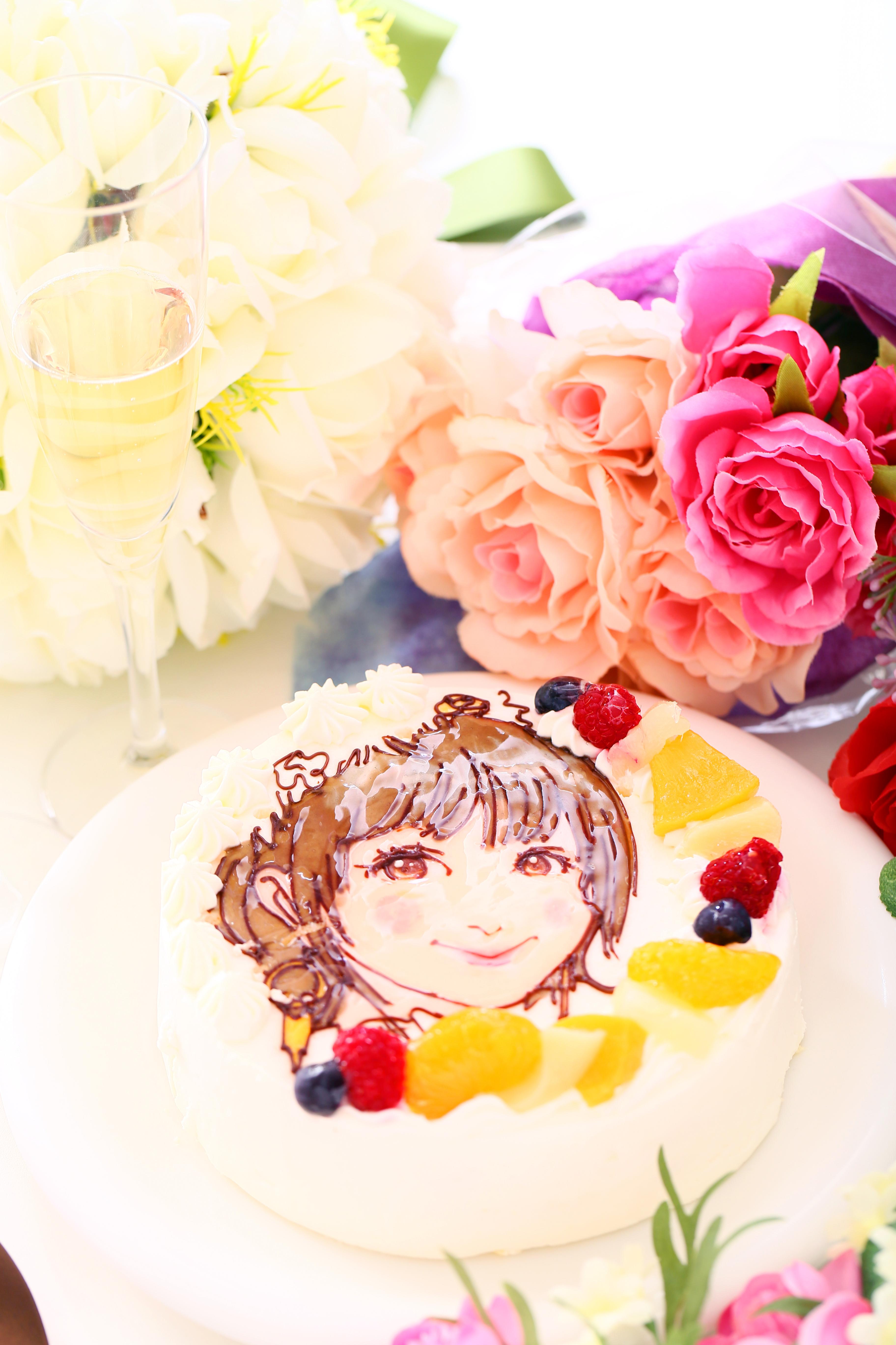 イラストケーキ、写真ケーキなど・・サプライズはいかが?