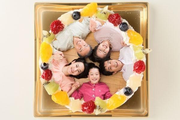 思い出の写真もケーキにしちゃえ~(*'▽')