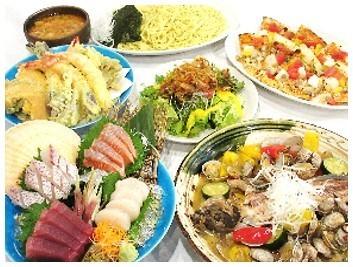 燿-hikaru- の魚コース料理