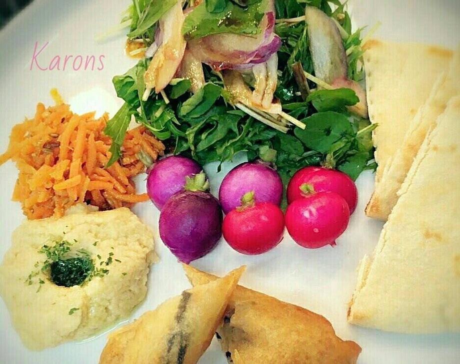 こだわりのサラダプレート ドリンク付き Picky Salad Plate w/coffee or tea(¥1500)