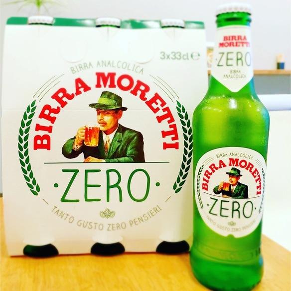 モレッティゼロ(ノンアルコールビール)(ITALY)Moretti Zero