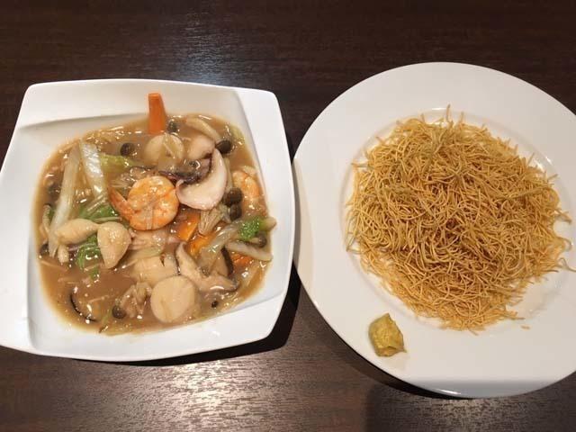 海鮮八宝菜(2~3人前・皿うどん付)
