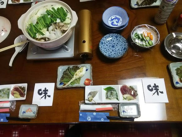 モツ鍋付き宴会料理