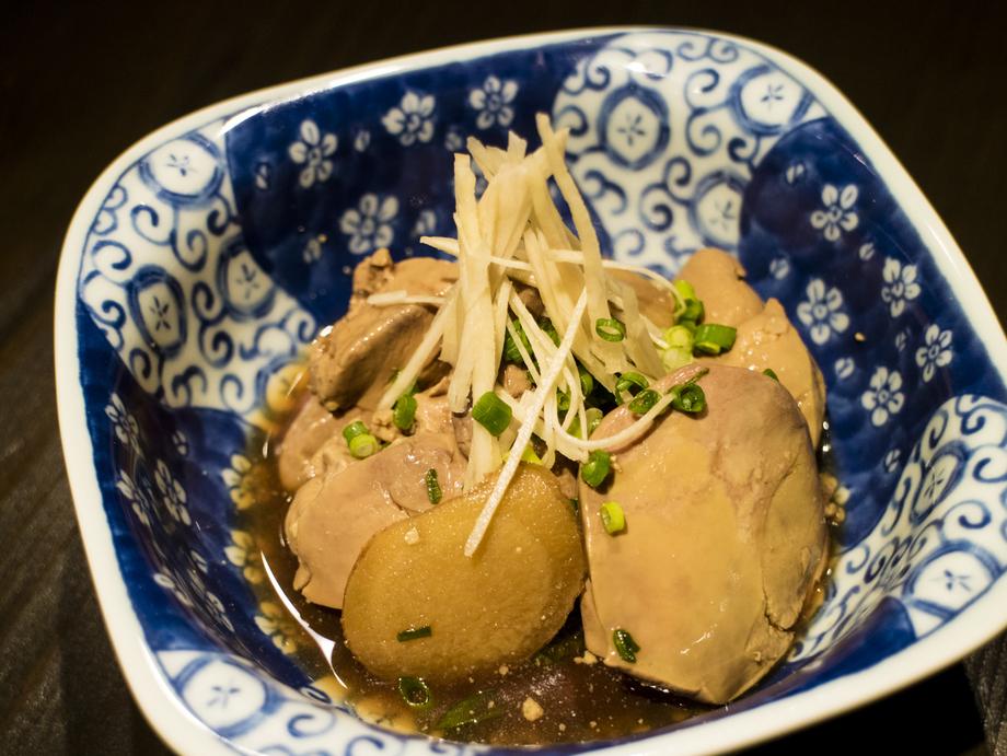 鶏肝しぐれ煮(490)