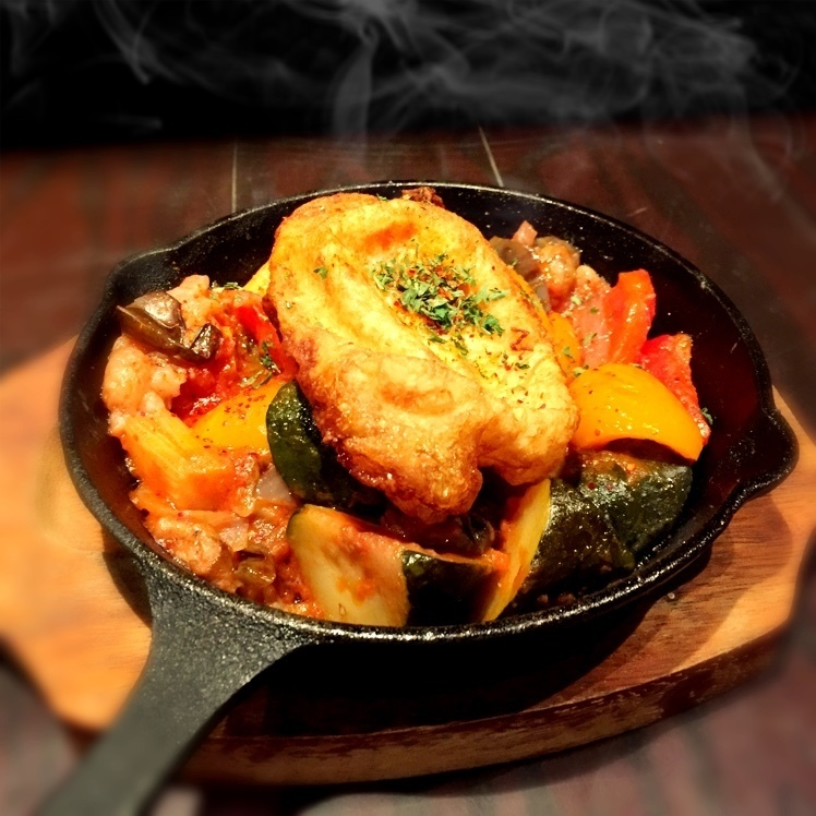 ラタトゥイユのオーブン焼き