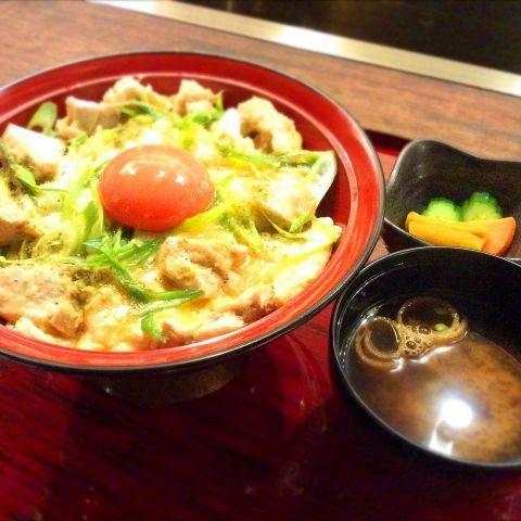 九条ねぎの京親子丼