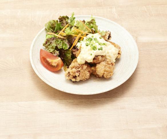 マヨタク鶏南蛮定食
