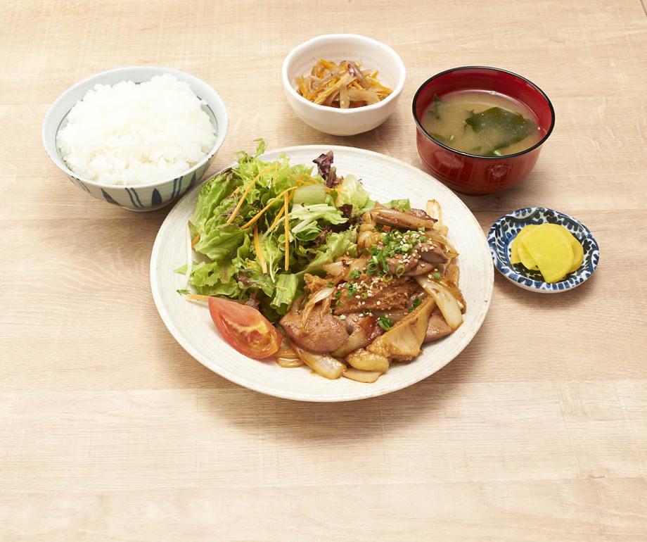 特製!ホルモン定食(890円(税抜))