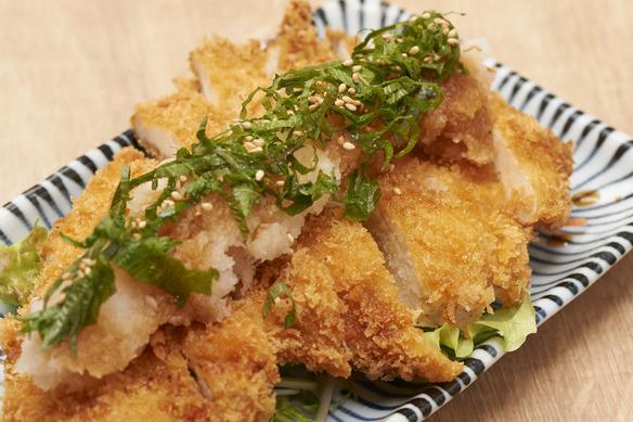 大山鶏カツおろしぽん酢