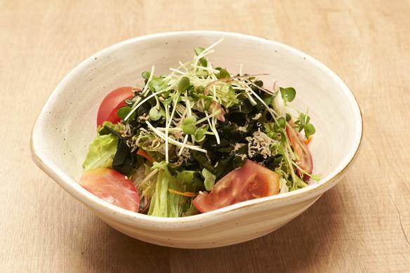 じゃこの海藻サラダ