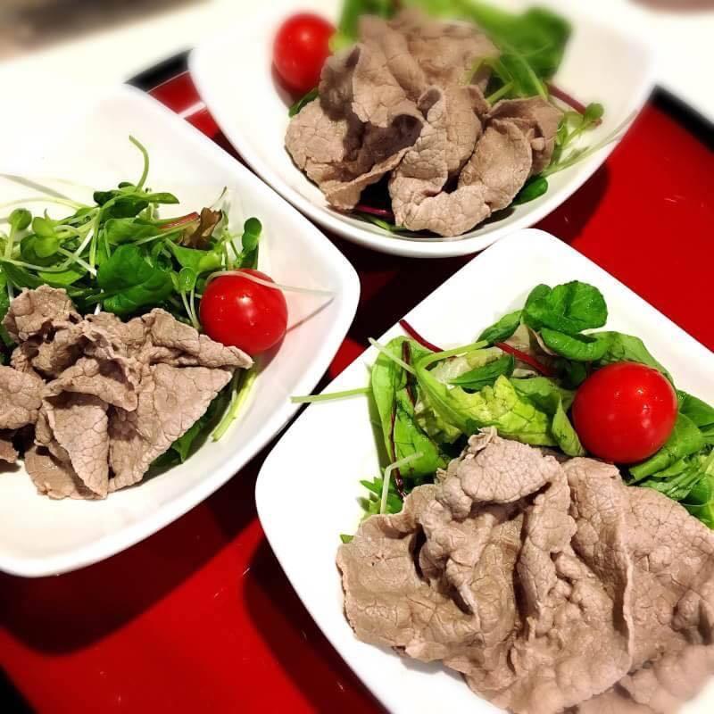 牛肉しゃぶサラダ(500)