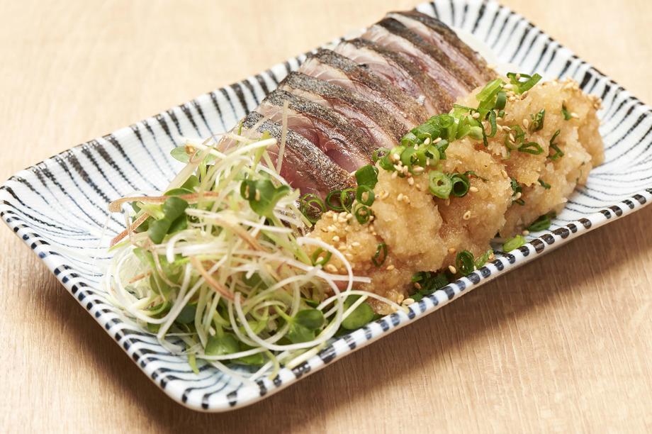 炙りしめ鯖のぶっかけぽん酢(680円(税抜))