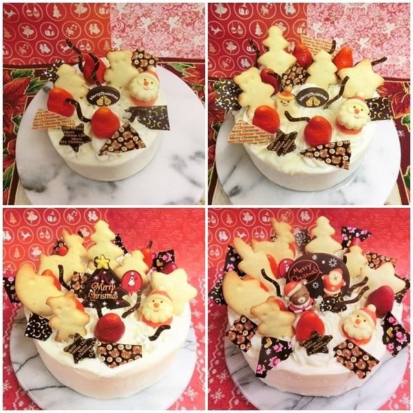 クリスマスホールデコレーションケーキのご予約承り中です(^^♪