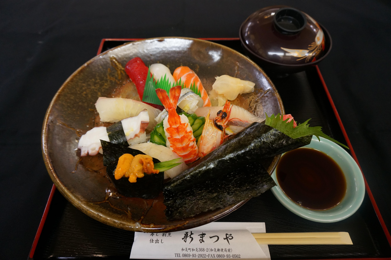 にぎり寿司※写真は特上です