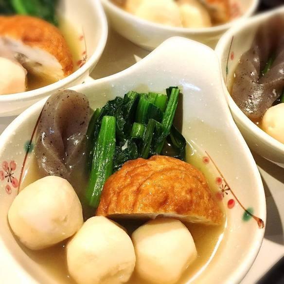 小松菜・さといも炊きあわせ