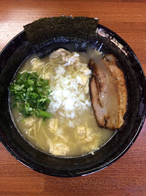 かきたま塩鶏白湯ラーメン(830円)