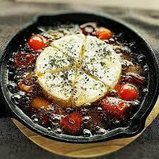 カマンベールチーズアヒージョ
