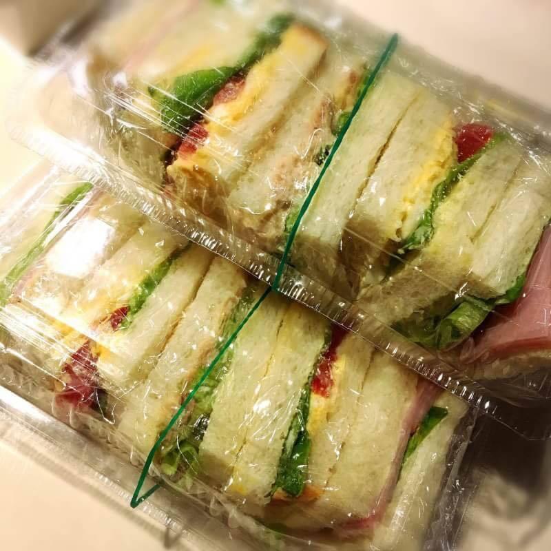 サンドイッチ(持ち帰りできるよ)(400)
