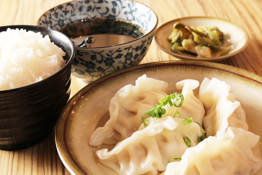 肉汁水餃子ランチ(5個)
