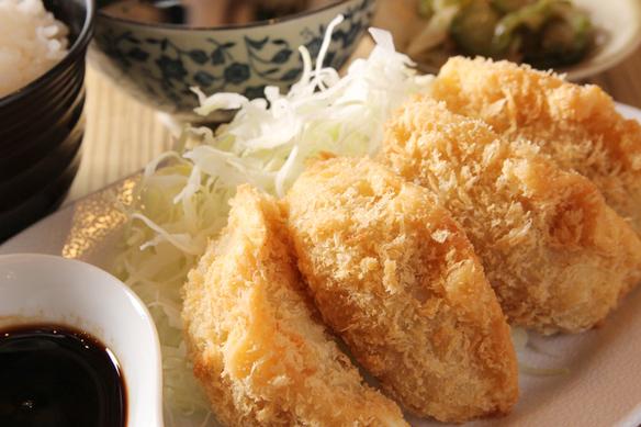THE 餃子カツランチ(4個)