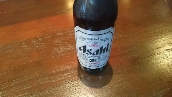 アサヒスーパードライ大瓶